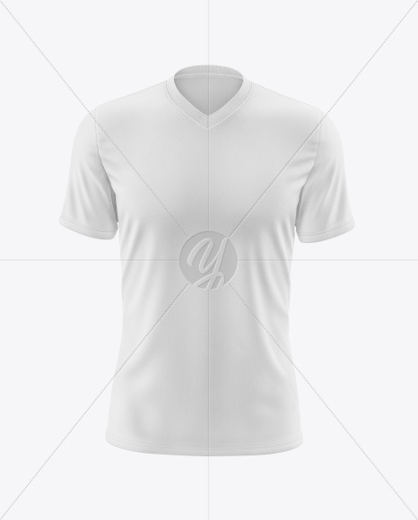 Men's V-Neck T-Shirt Mockup