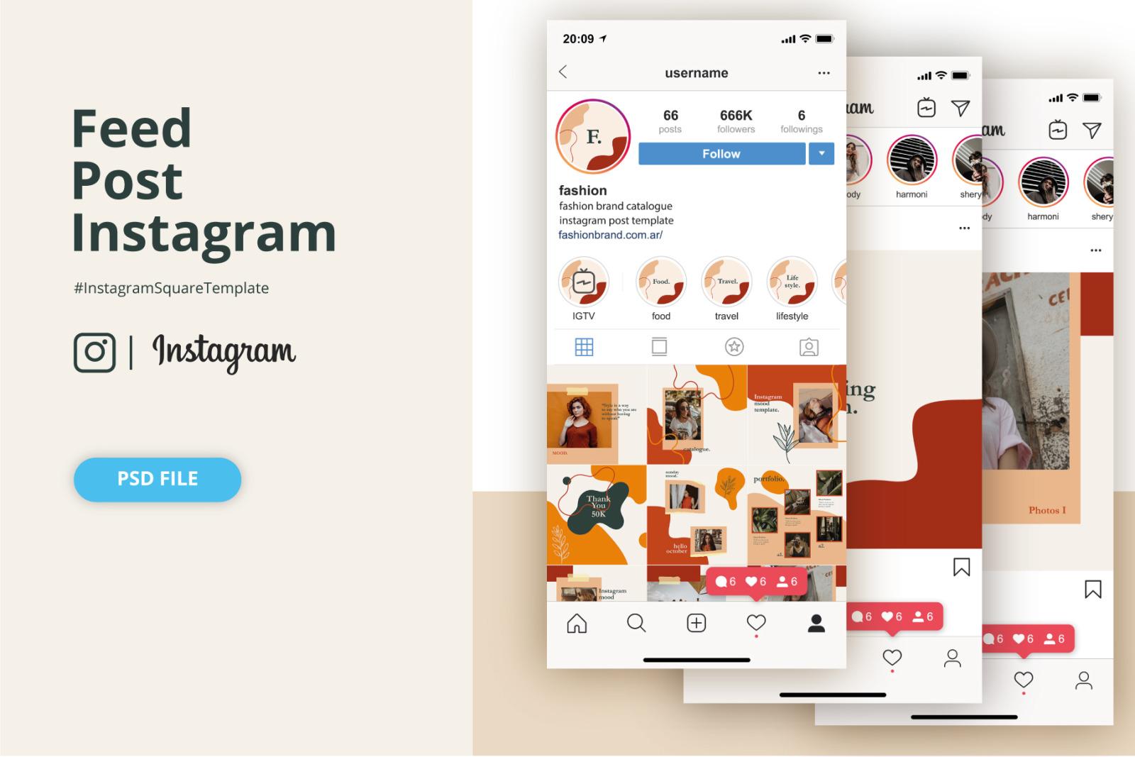 Fashion Brand Post Instagram