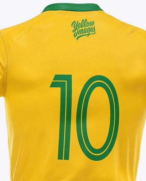 Soccer Uniform Mockup - Back View