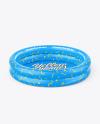 Inflatable 2-ring Pool Mockup