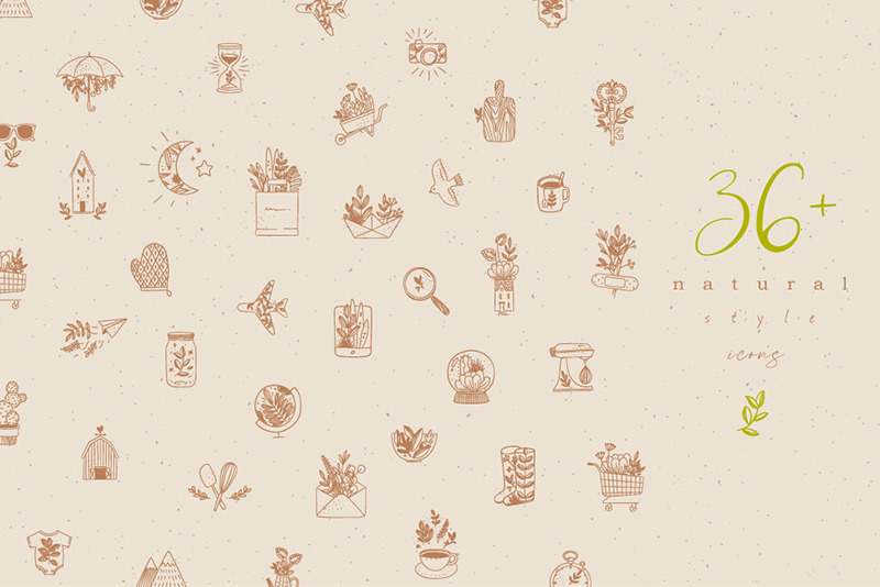 36 Natural Style Icons