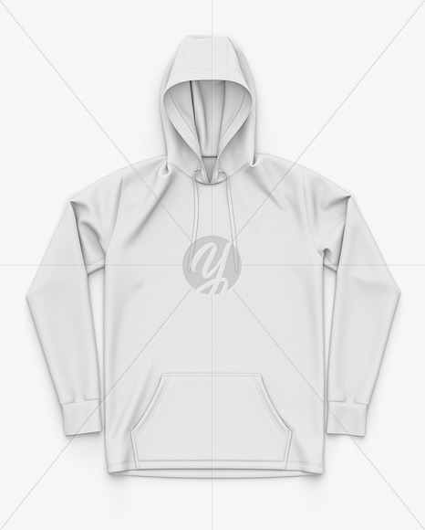 Download Pullover Hoodie Sublimated Hooded Sweatshirt Top View In Apparel Mockups On Yellow Images Object Mockups