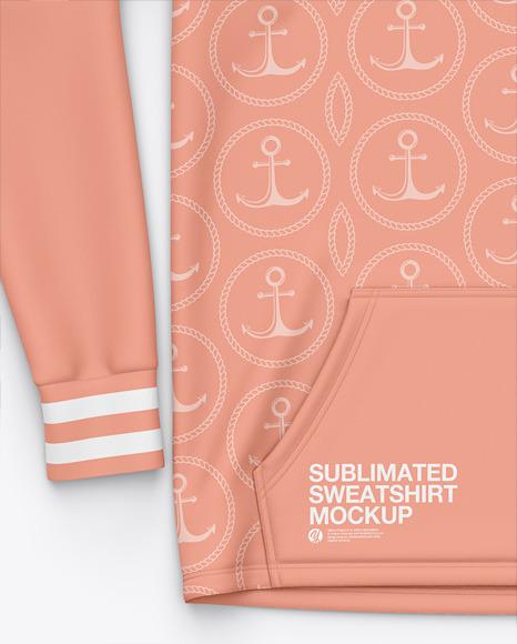 Hooded Sweatshirt Mockup