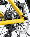 Fat Bike Mockup - Left Half Side View