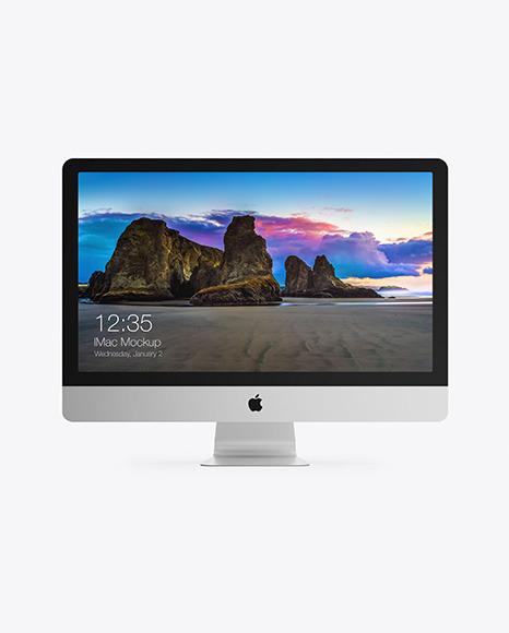 27' Apple iMac Mockup