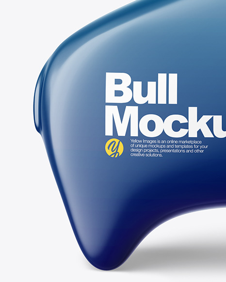 Bull Mockup