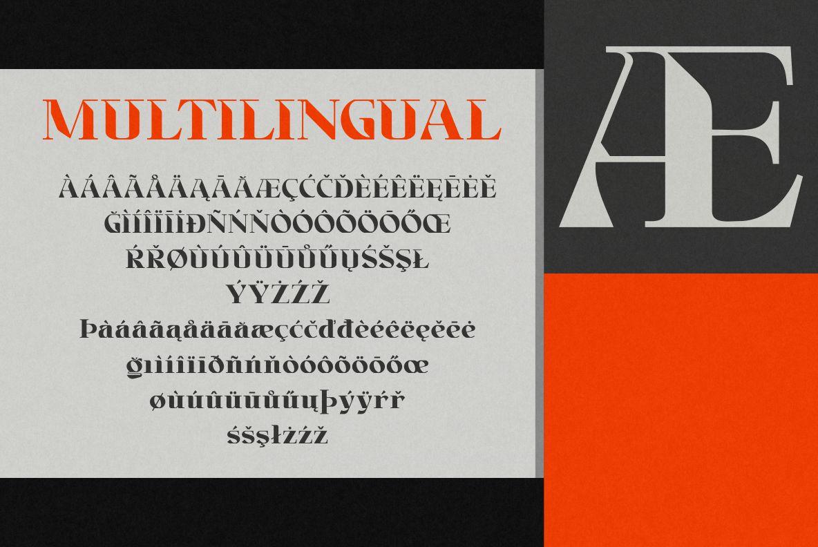 Brightfate - Multipurpose Display Font