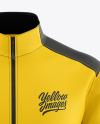 Men's Full-Zip Jacket Mockup