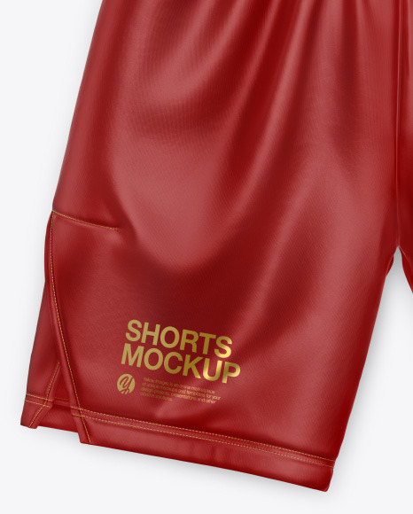 Silk Shorts Mockup
