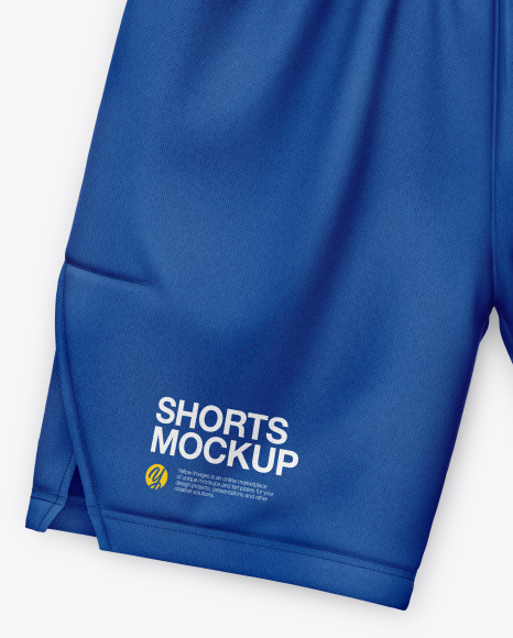 Cotton Shorts Mockup