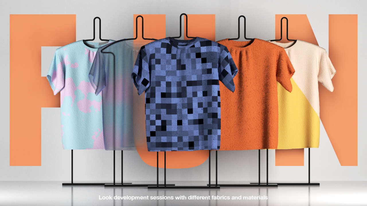 Oversized T-Shirt for Hangers 3D Model