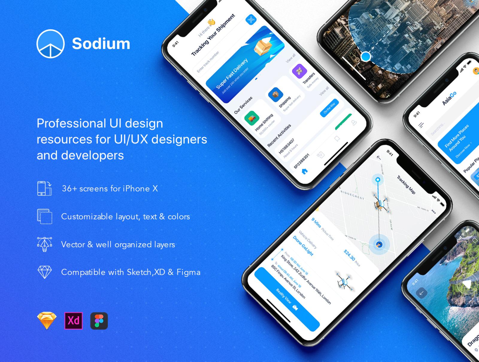 Sodium UI Kit