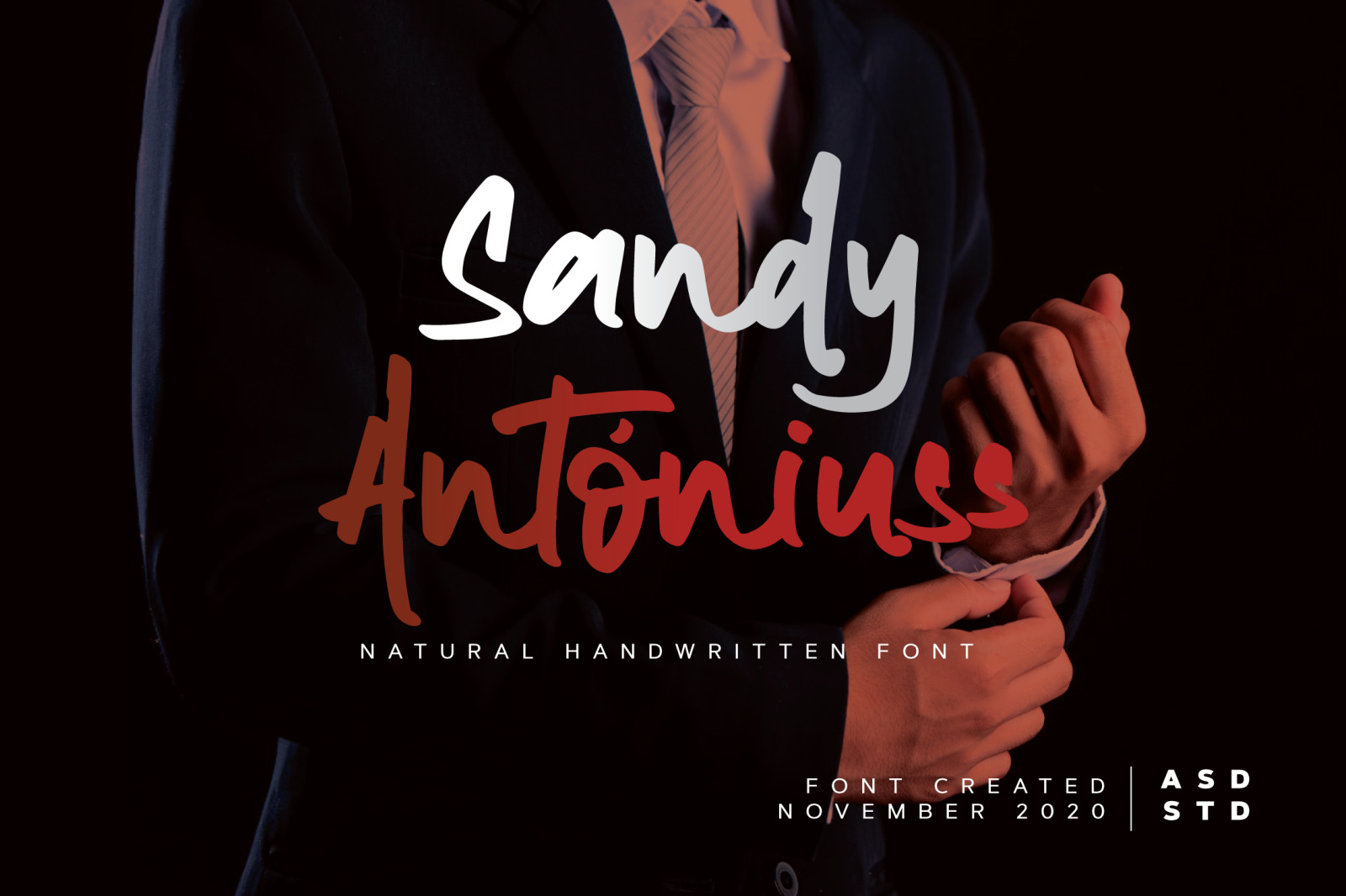 Sandy Antoniuss - Natural Handwritten