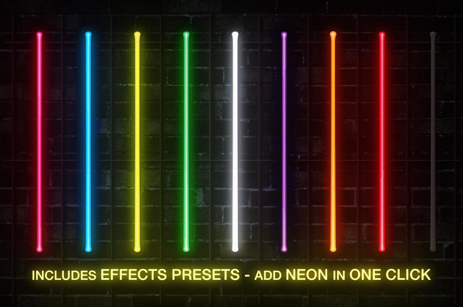 Retro Neon Sign Collection: Volume One