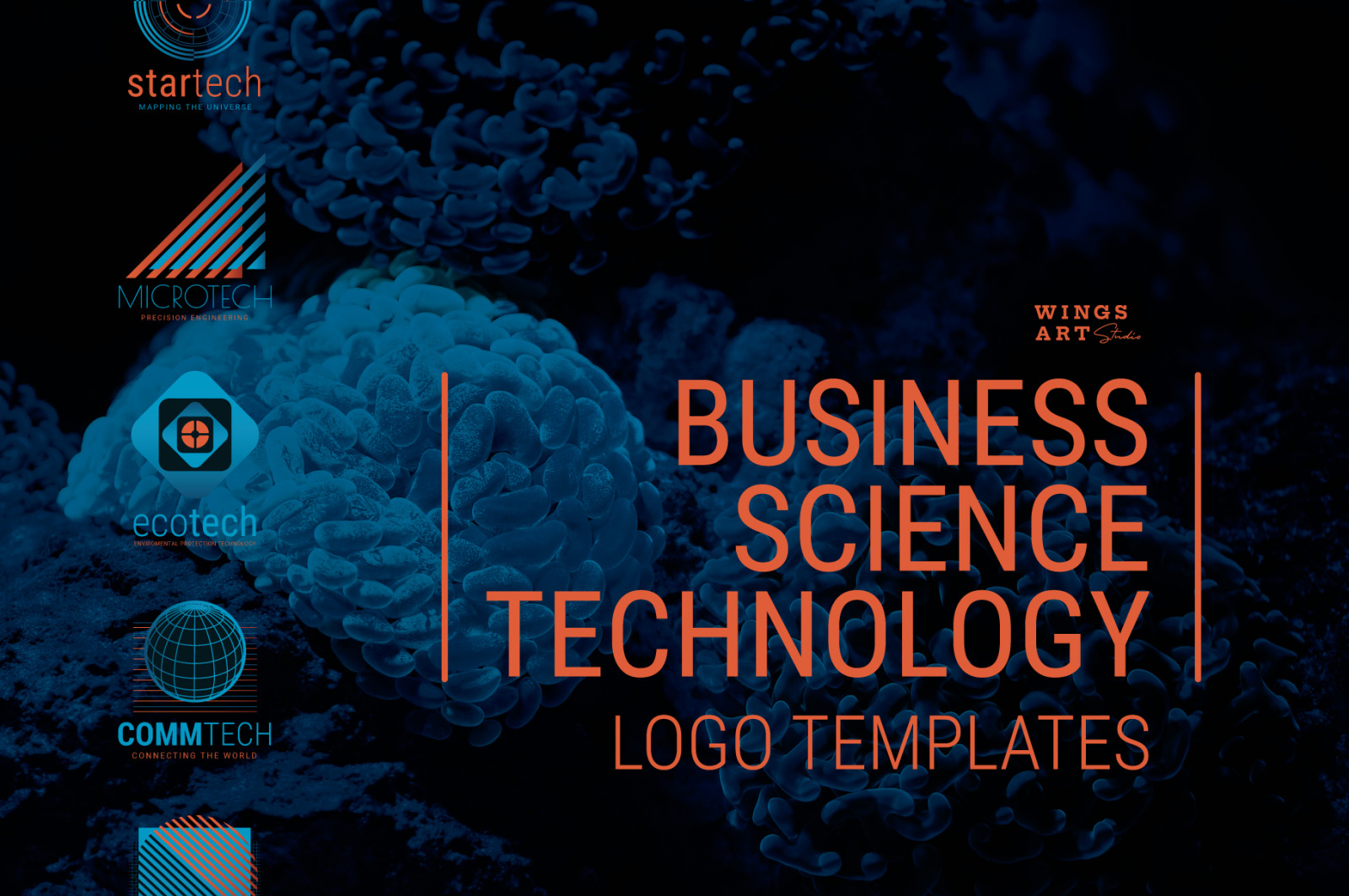 Business, Science and Technology Logo Templates