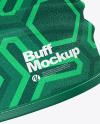 Fleece Buff Mockup - Side View