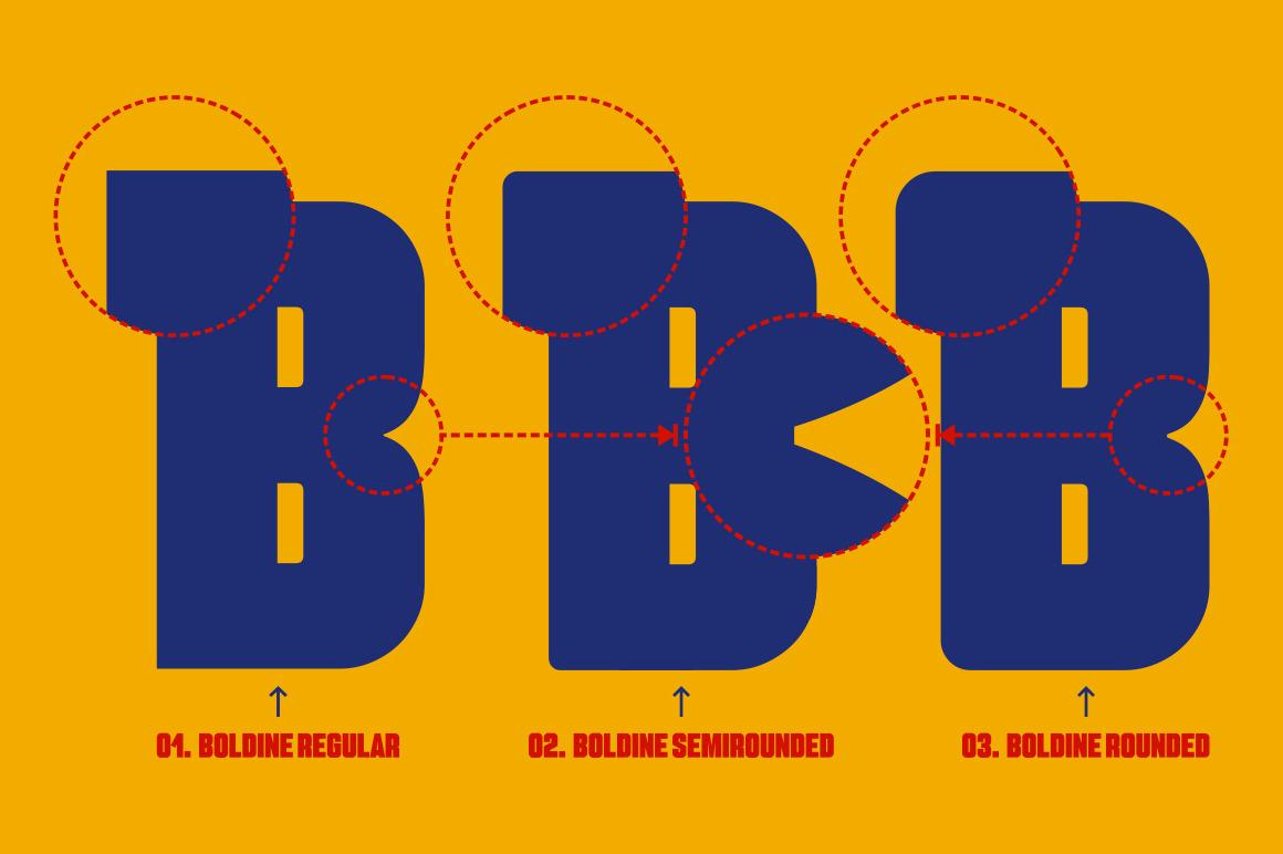 Boldine Font