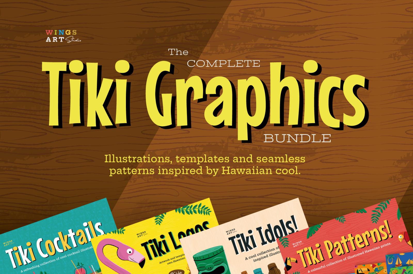 The Retro Tiki Illustration Collection