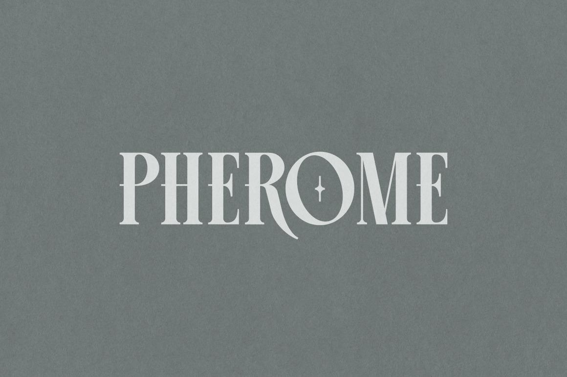 PHEROME DISPLAY FONT