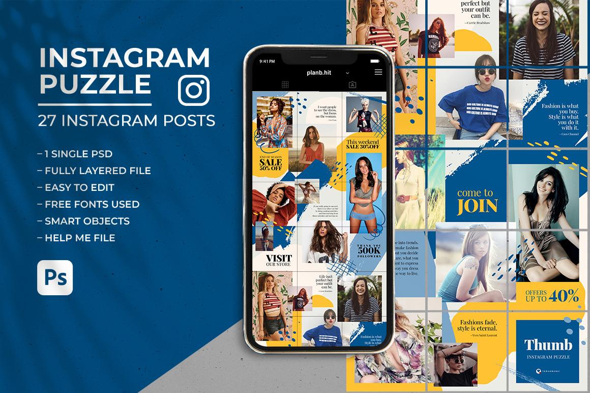 Thumb - Social Media Instagram Puzzle Feed