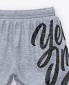 Melange Shorts Mockup