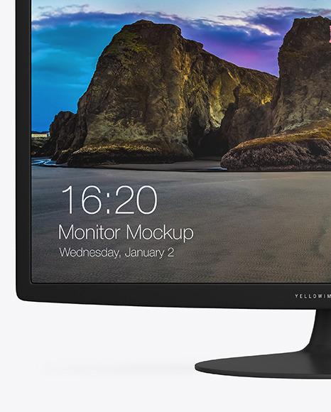 24' Monitor Mockup