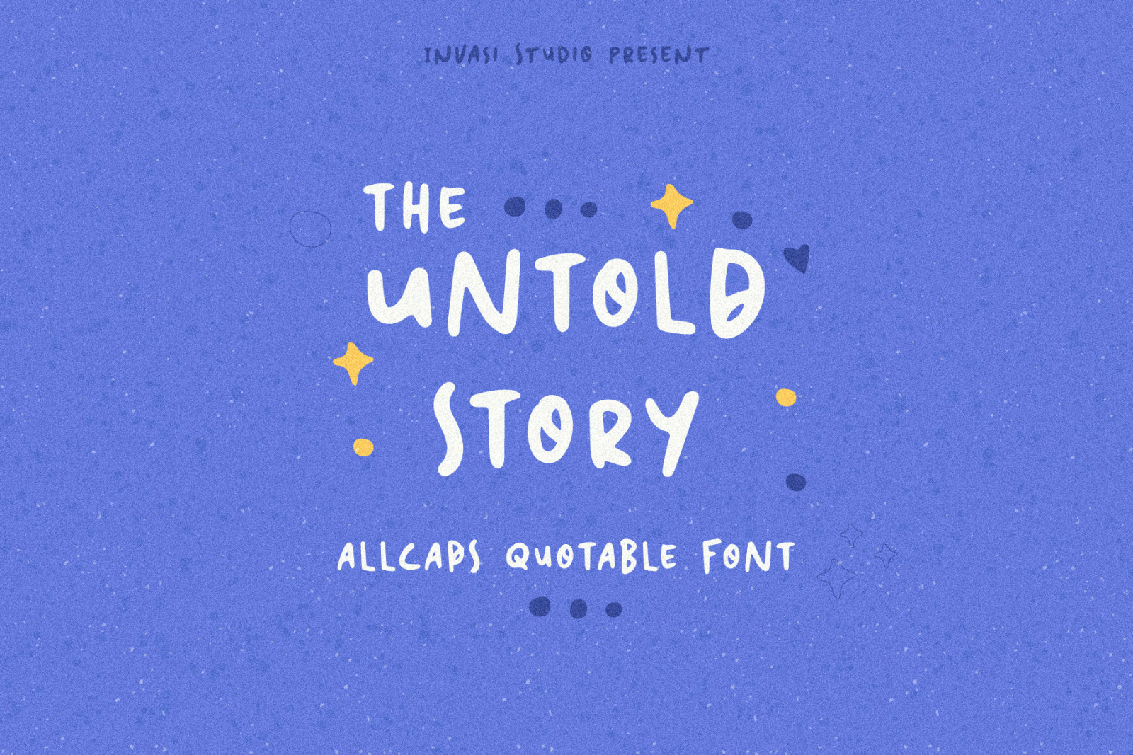 The Untold Story   Quotable Font
