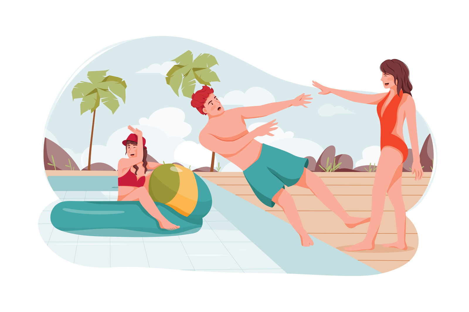 M175_Summer Vacation Illustrations