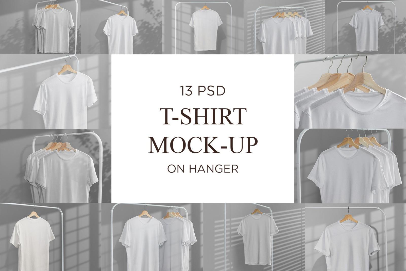 T-Shirt Mock-Up on Hanger