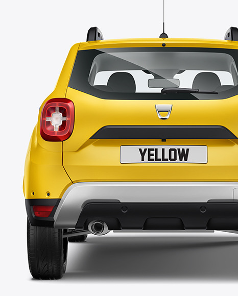 Compact Crossover SUV - Back View