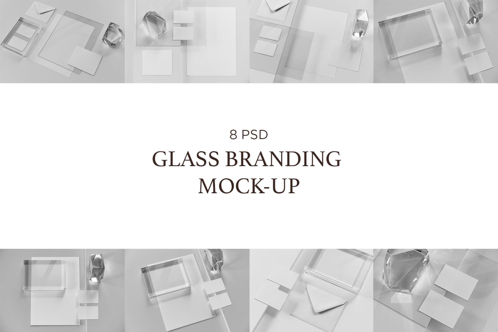 Glass Branding Mock-Up