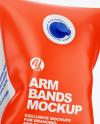 Swimming Arm Bands Mockup