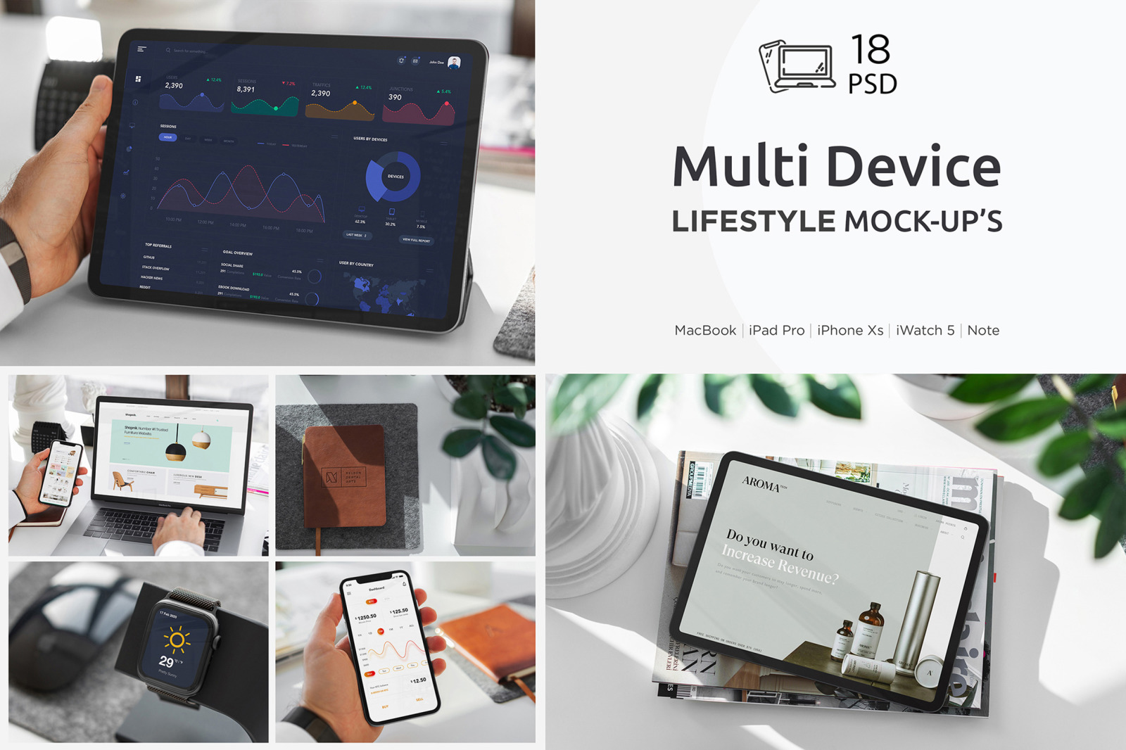 Multi Device Mockup Lifestyle