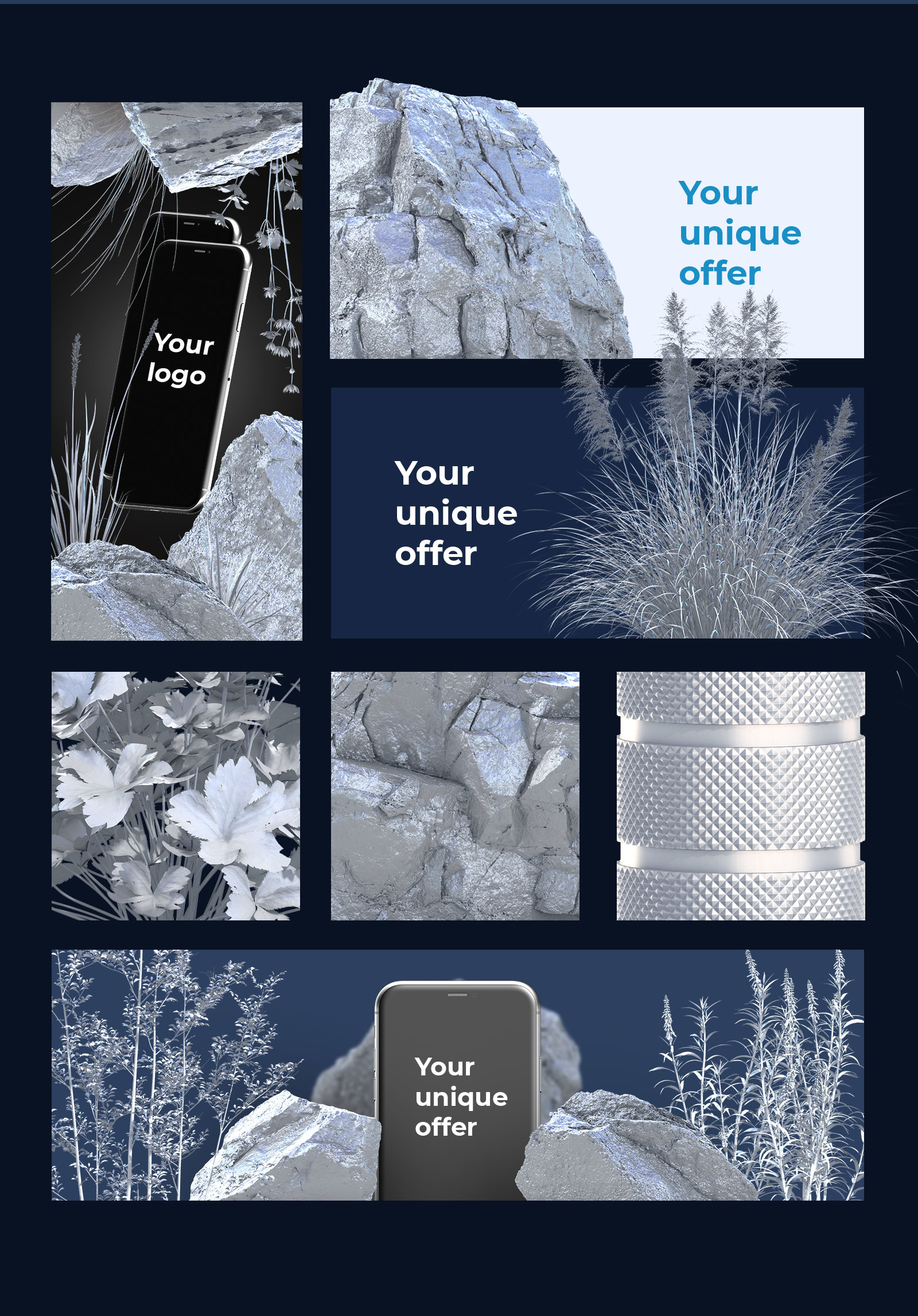 Silver nature collection #03