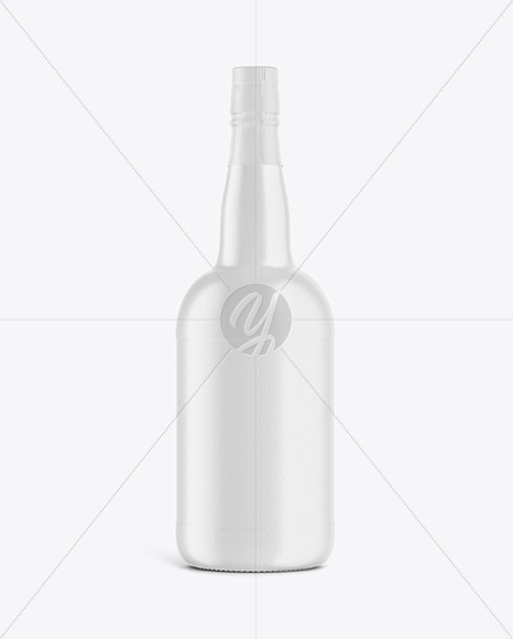 Ceramic Wine Bottle Mockup